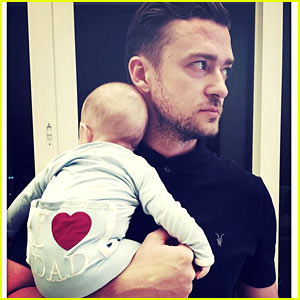 Justin Timberlake Rings in First Father's Day with Baby Silas!