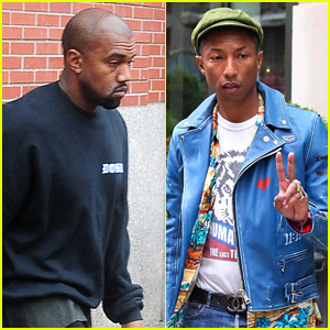 Kanye West Presents Pharrell Williams with a CFDA Award: Fashion Is the Hardest School I Went To