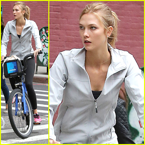 Karlie Kloss Bikes Her Way Around New York City