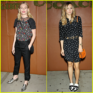 Kate Bosworth & Suki Waterhouse Are Blonde Bombshells at Coach Summer Party