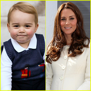 Kate Middleton & Prince George Played a Game of Monster Chase on Their Adorable Play Date!