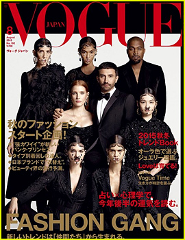 Kendall Jenner, Jessica Chastain, & More Are Part of Vogue Japan's Fashion Gang!