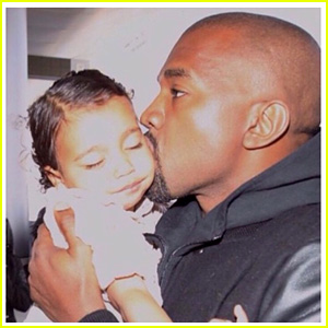 Kim Kardashian Honors Hubby Kanye West on Father's Day