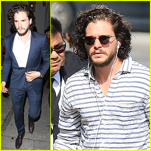 Kit Harington Judges Amazing Jon Snow Impersonators on 'Jimmy Kimmel Live' - Watch Now!
