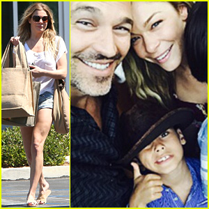 LeAnn Rimes Goes Grocery Shopping for Father's Day Picnic