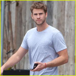 Liam Hemsworth No Longer Is Rocking a Scruffy Look