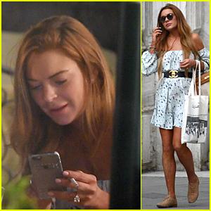 Lindsay Lohan Gets Job Offer For 'Impressive' Community Service