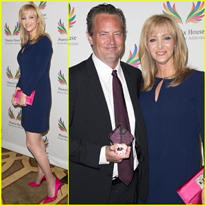 Lisa Kudrow & Matthew Perry Reunite at Phoenix House's Triumph For Teens Awards Gala 2015!