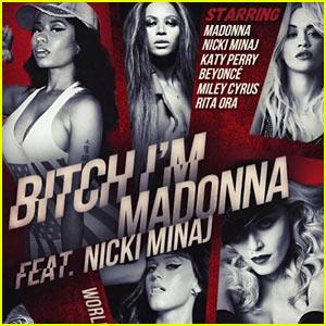 Madonna Teases Star-Studded 'Bitch I'm Madonna' Video!
