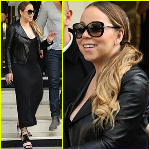 Mariah Carey Reveals What She's Been Working On In Paris