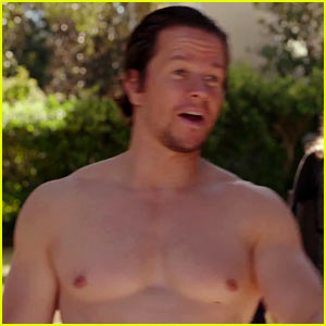 Mark Wahlberg Goes Shirtless in 'Daddy's Home' Trailer! | Mark ...