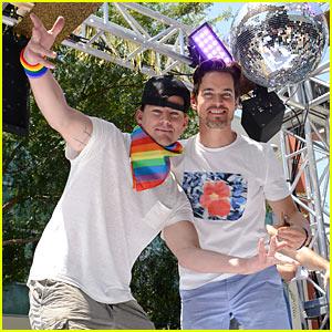 Channing Tatum & Matt Bomer Dance on L.A. Pride Float!