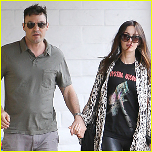 Megan Fox & Brian Austin Green Hold Hands During Rare Outing