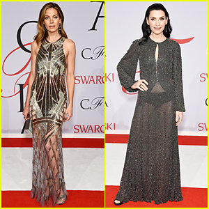 Michelle Monaghan & Julianna Margulies Rock Sheer Dresses at CFDA Fashion Awards 2015