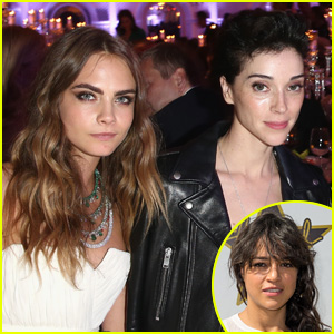 Michelle Rodriguez on Ex Cara Delevingne's Relationship With St. Vincent: 'You Go Girl!'
