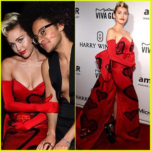 Miley Cyrus Brings Her #InstaPride to NYC's amfAR Gala