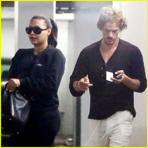 Naya Rivera Steps Out for Baby Checkup with Ryan Dorsey