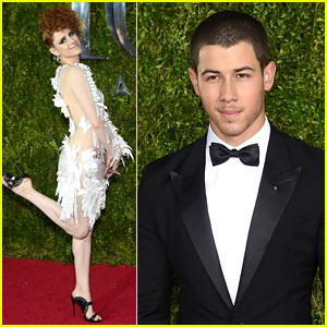 Nick Jonas & Kiesza Find Neverland at Tony Awards 2015