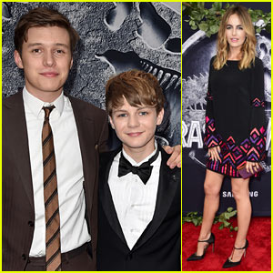 Nick Robinson Enjoys Brotherly Bonding with Ty Simpkins at ...