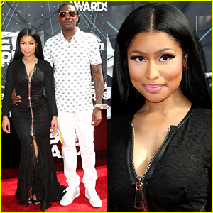 Nicki Minaj & Boyfriend Meek Mill Hit the Carpet Before Their BET Awards 2015 Performance!