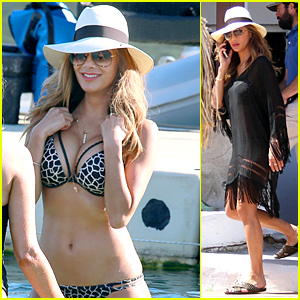 Nicole Scherzinger Flaunts Hot Bikini Body Before 37th Birthday