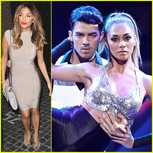Nicole Scherzinger & Joe Jonas Perform Dangerous Skating Act on 'I Can Do That' - Watch Now!