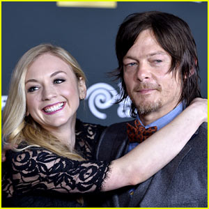 Walking Dead's Norman Reedus & Emily Kinney Are Reportedly Dating!