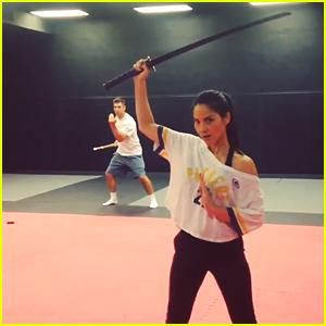 Olivia Munn Shows Off Amazing Sword Skills in New Video!