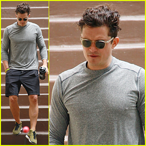 Orlando Bloom Continues to Work Out His Body in Malibu