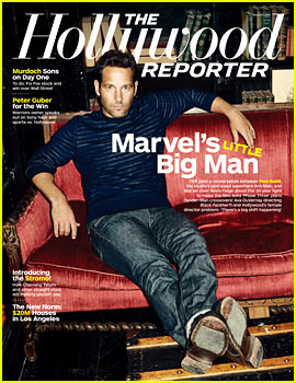 Paul Rudd Talks 'Ant-Man' for New 'THR' Cover Feature!