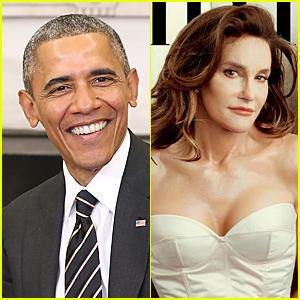 President Obama Comments on Caitlyn Jenner's Vanity Fair Cover