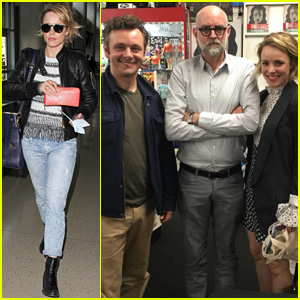Rachel McAdams Reunites With Ex Michael Sheen in L.A.