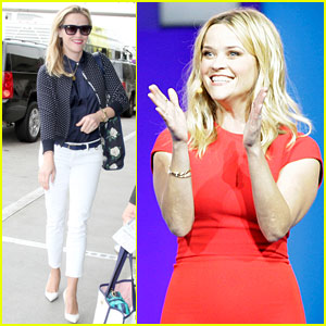 Reese Witherspoon Brings Back the 'Bend & Snap' (Video)