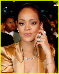 Rihanna Adopts a Dog... That She Found in a Bathroom!
