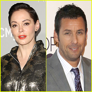 Rose McGowan Blasts Adam Sandler For Sexist Casting Call