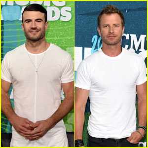 Sam Hunt & Dierks Bentley Are CMT Awards' Country Studs!