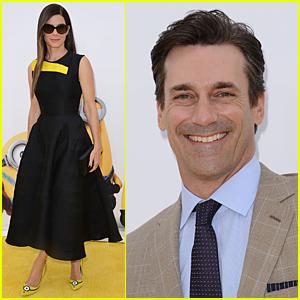 Sandra Bullock Rocks 'Minions' Inspired Heels at Los Angeles Premiere