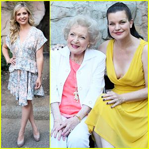 Sarah Michelle Gellar & Betty White Have Amazing Moment at Beastly Ball 2015