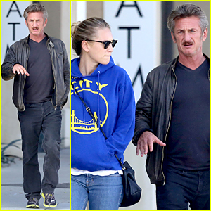 Sean Penn Steps Out on Father's Day Following Charlize Theron Split