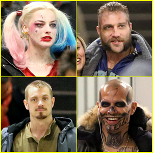 'Suicide Squad' Cast Films Scene in a Subway Station!