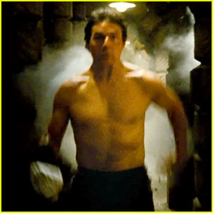 Tom Cruise Goes Shirtless, Runs for His Life in New 'Mission: Impossible' Trailer