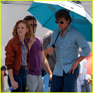 Photo de Jayma Mays & son ami  Tom Cruise
