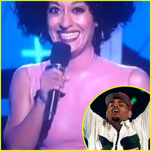 Tracee Ellis Ross Throws Shade at Chris Brown & Tyga During the BET Awards 2015 (Video)