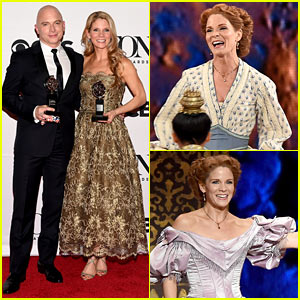 Watch Kelli O'Hara's Crazy Fast Tonys Quick Change! (Video)