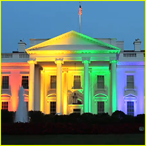 White House Is Lit Up Like a Rainbow to Celebrate Marriage Equality