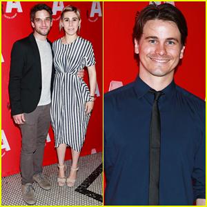 Zosia Mamet Supports Father David at 'Ghost Stories' Opening Night with Boyfriend Evan Jonigkeit!
