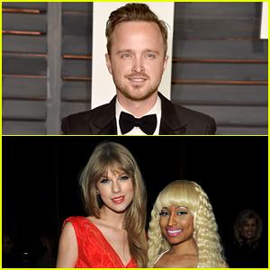 Aaron Paul Had the Best Response to Nicki Minaj & Taylor Swift's VMAs Tweets