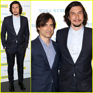 Adam Driver Premieres His Film 'While We're Young' in Paris