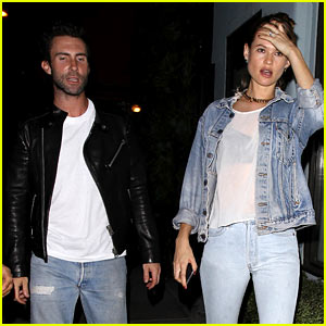 Adam Levine & Behati Prinsloo Get 'Busy' with Nasim Pedrad