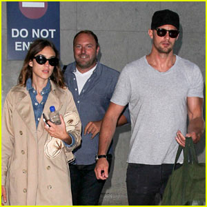 Alexander Skarsgard & Alexa Chung Bring Their Love to L.A.